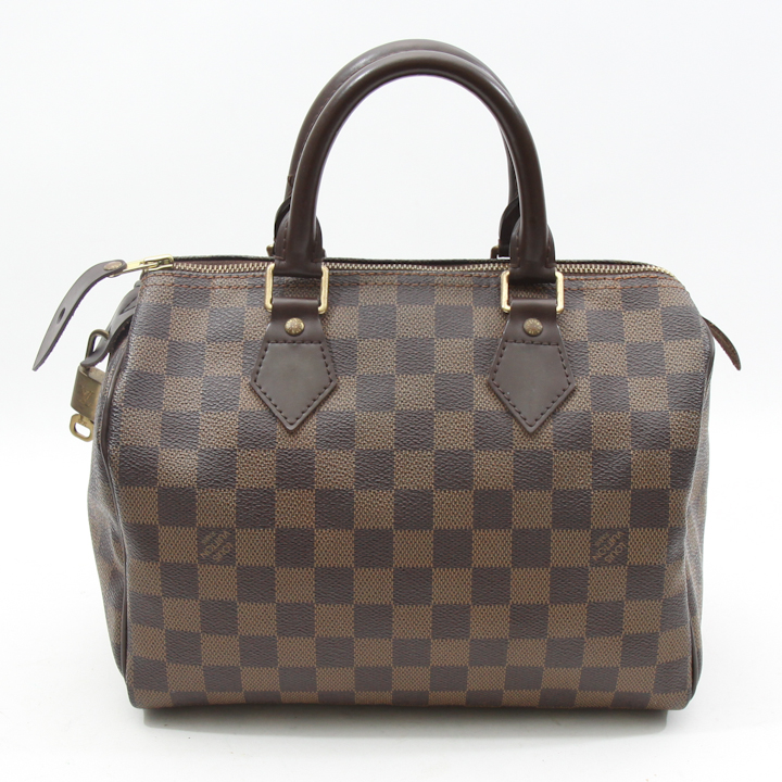 Louis vuitton damier azur speedy 25 bag lvjy598 bags of for Louis vuitton miroir bags