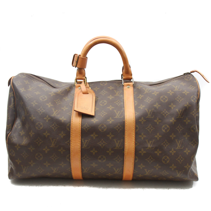 louis vuitton monogram keepall 50 travel bag lvjs596. Black Bedroom Furniture Sets. Home Design Ideas