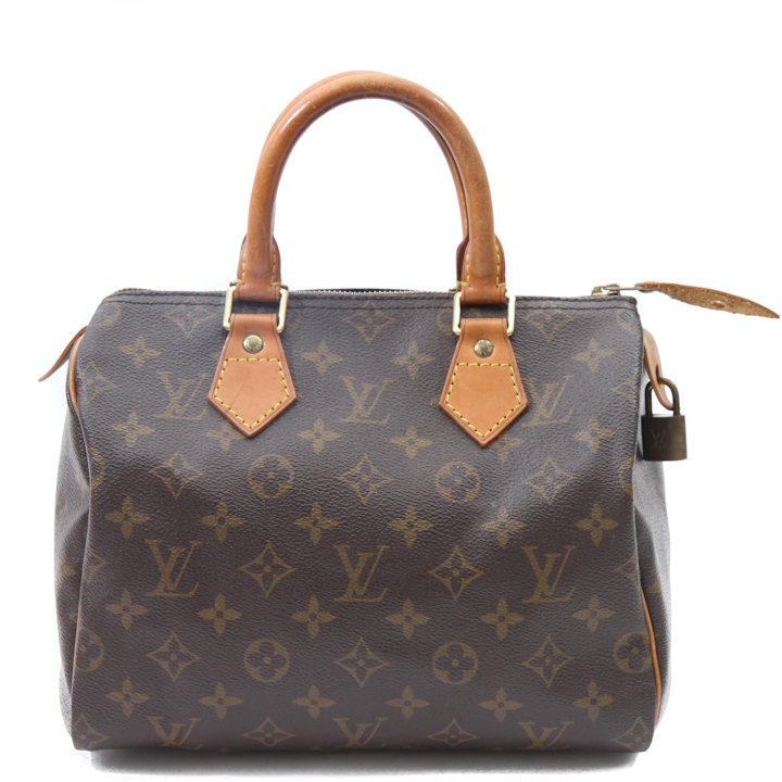 Louis Vuitton Monogram Speedy 25 Bag LVJS375 - Bags of CharmBags of ...