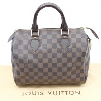 louis Vuitton damier ebene speedy 25 bag main (1 of 1)