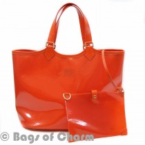 lv orange large lagoon bay bag (1 of 5)