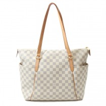louis vuitton damier azur totally mm bag (5 of 10)