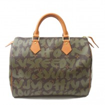 louis vuitton limited edition graffti speedy 30  (5 of 7)