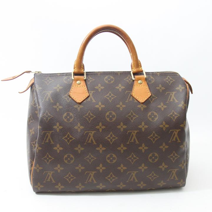 Louis vuitton monogram canvas speedy 30 bag lvjs639 bags for Louis vuitton miroir speedy 30