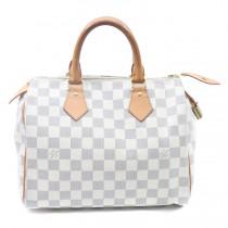 Louis Vuitton handbags Louis Vuitton damier azur speedy 25 bag