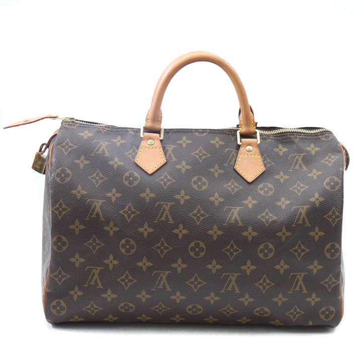 Louis vuitton monogram speedy 35 bag lvjs652 bags of for Louis vuitton miroir speedy 35