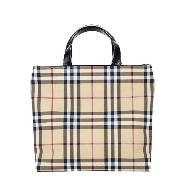 c0631239e94d Burberry Tote in Nova Check design BB1083 - Bags of CharmBags of Charm
