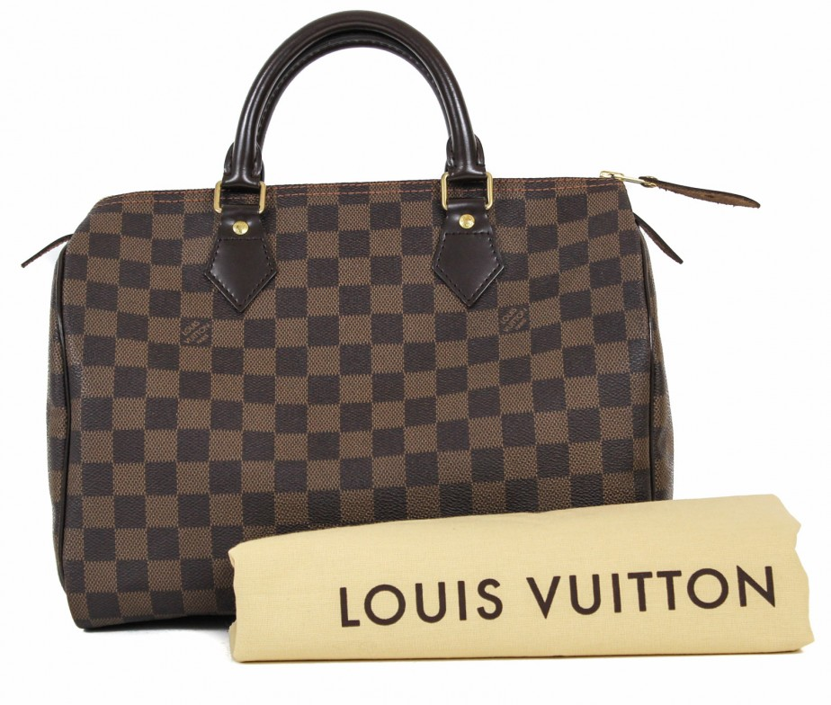 29156e13793f Louis Vuitton Speedy 30 in Damier Ebene - Bags of CharmBags of Charm
