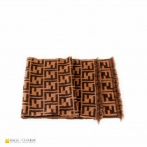 Fendi-Logo-Knit-Wool-Scarf-brown-f1021-1