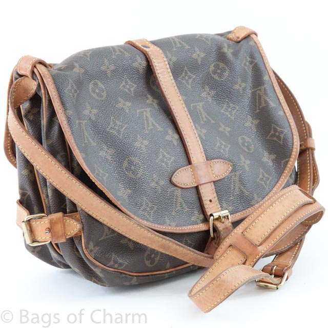 a1035f3e5097 Louis Vuitton Monogram Saumur 30 Bag LVJ287 - Bags of CharmBags of Charm